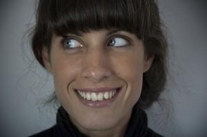 いつも笑顔がたえない女性